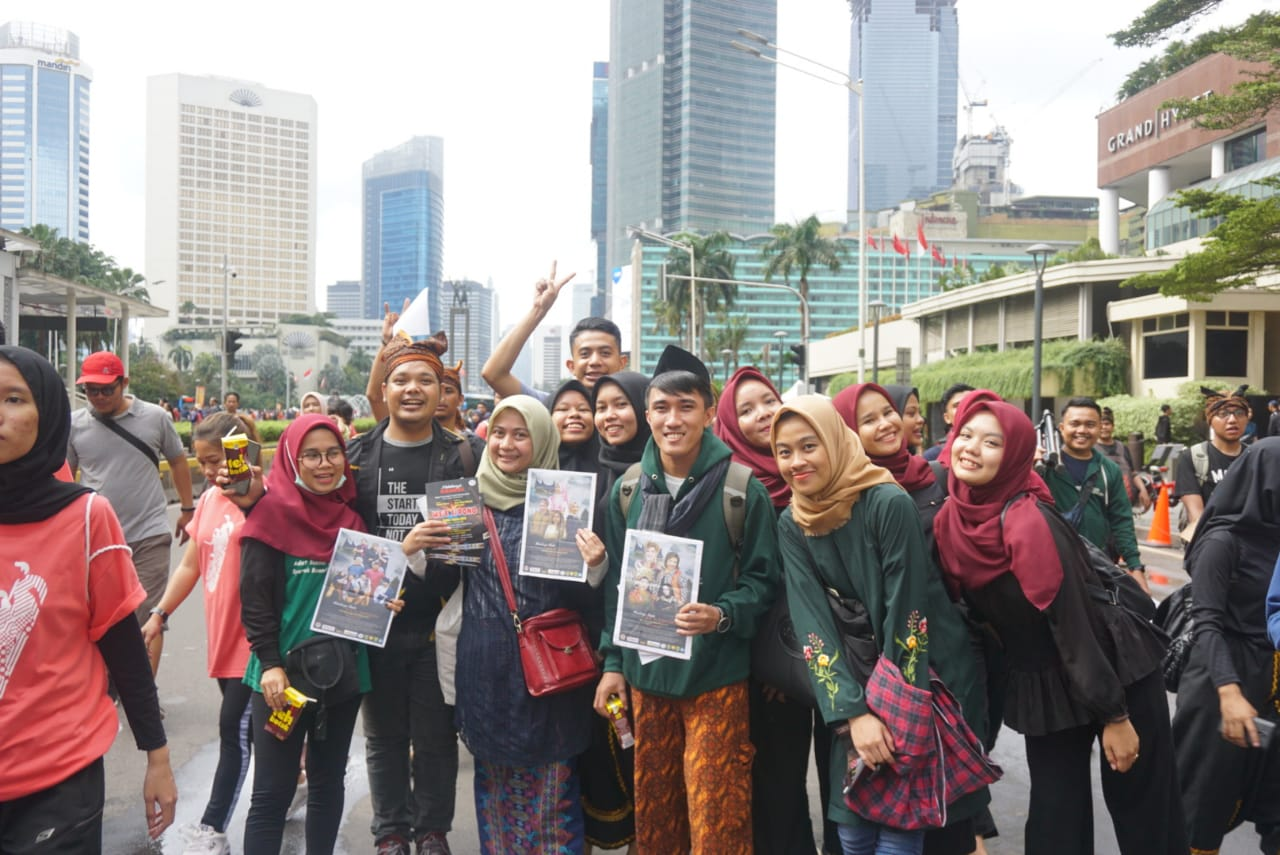 Photo of Mahakarya Randai Wee Sipono Hadir di CFD Jakarta