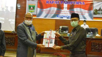 Photo of Gubernur Sumbar Terima Rekomendasi DPRD Terkait LKPJ Tahun 2019